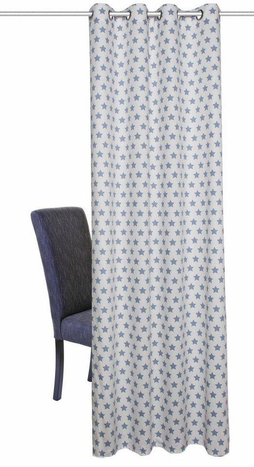 Vorhang, Home Wohnideen, »SIMON« (1 Stück) in blau