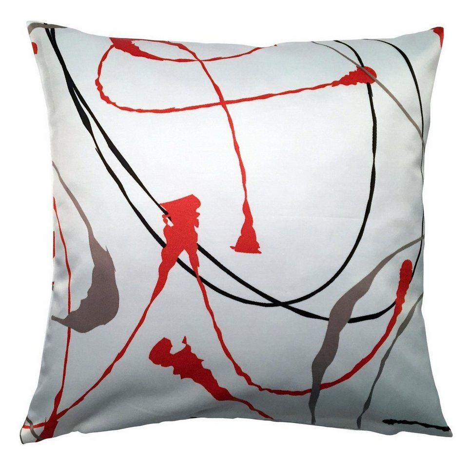 Kissenhüllen, Home Wohnideen, »URANIA« (1 Stück) in rot