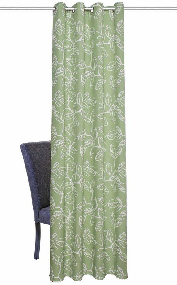 Vorhang, Home Wohnideen, »MIKE« (1 Stück) in grün-natur
