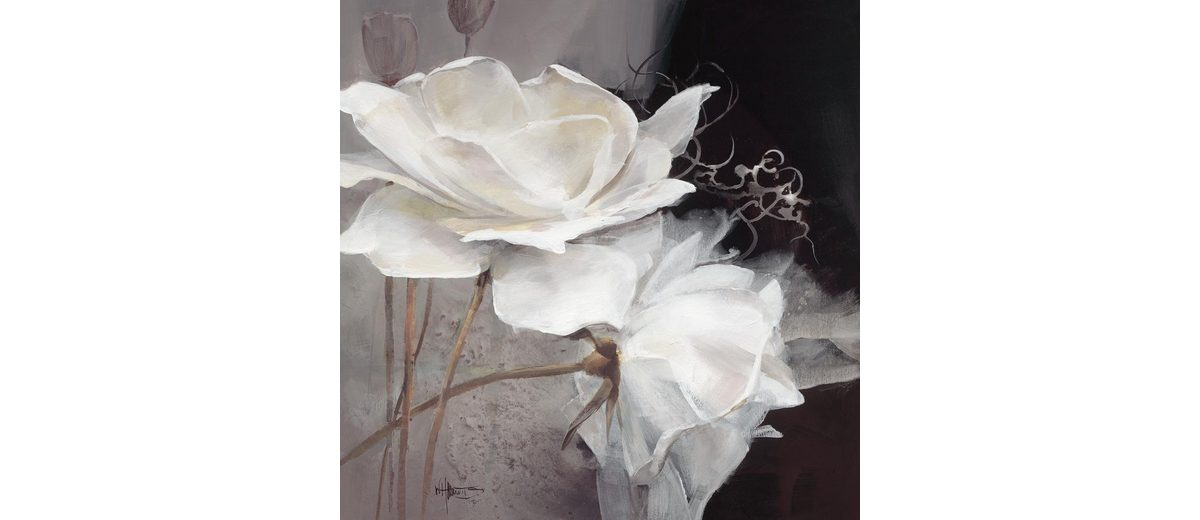 Eurographics Leinwandbild »Wealth of Flowers I«, 80/80cm
