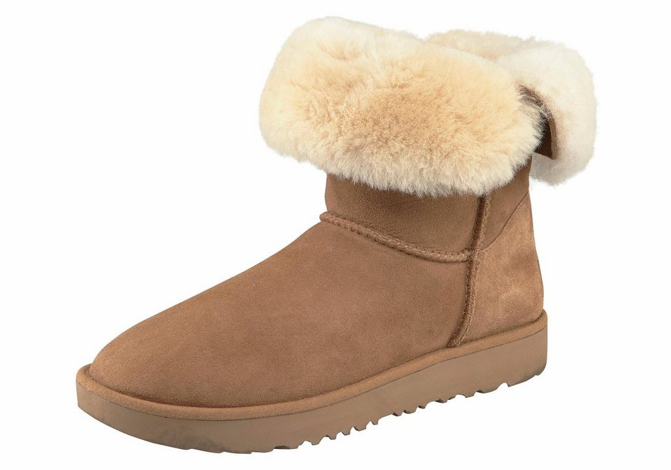ugg classic cuff short winterstiefel mit schaft zum runterklappen online kaufen otto. Black Bedroom Furniture Sets. Home Design Ideas