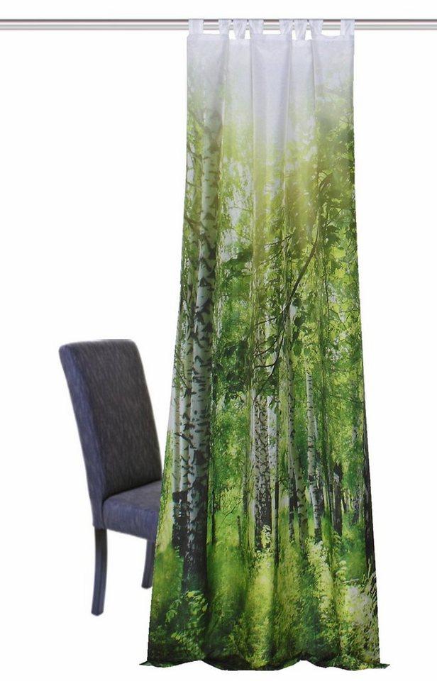 Vorhang, Home Wohnideen, »NEWCASTLE« (1 Stück) in grün