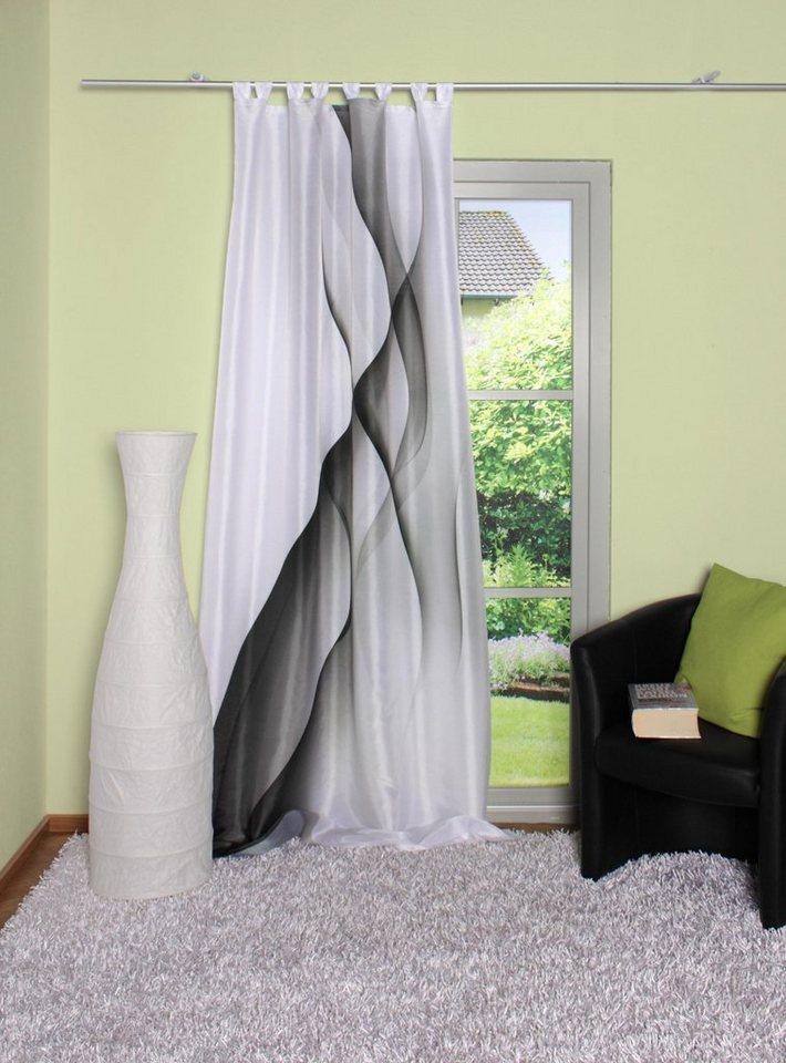Vorhang, Home Wohnideen, »PAISLEY« (1 Stück) in schwarz-weiß