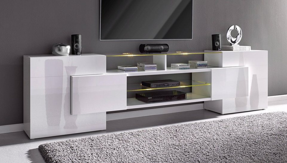 design tv lowboard hochglanz. Black Bedroom Furniture Sets. Home Design Ideas