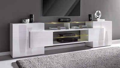 Tv schrank weiß hochglanz hängend  TV-Lowboard & TV-Bank online kaufen | OTTO