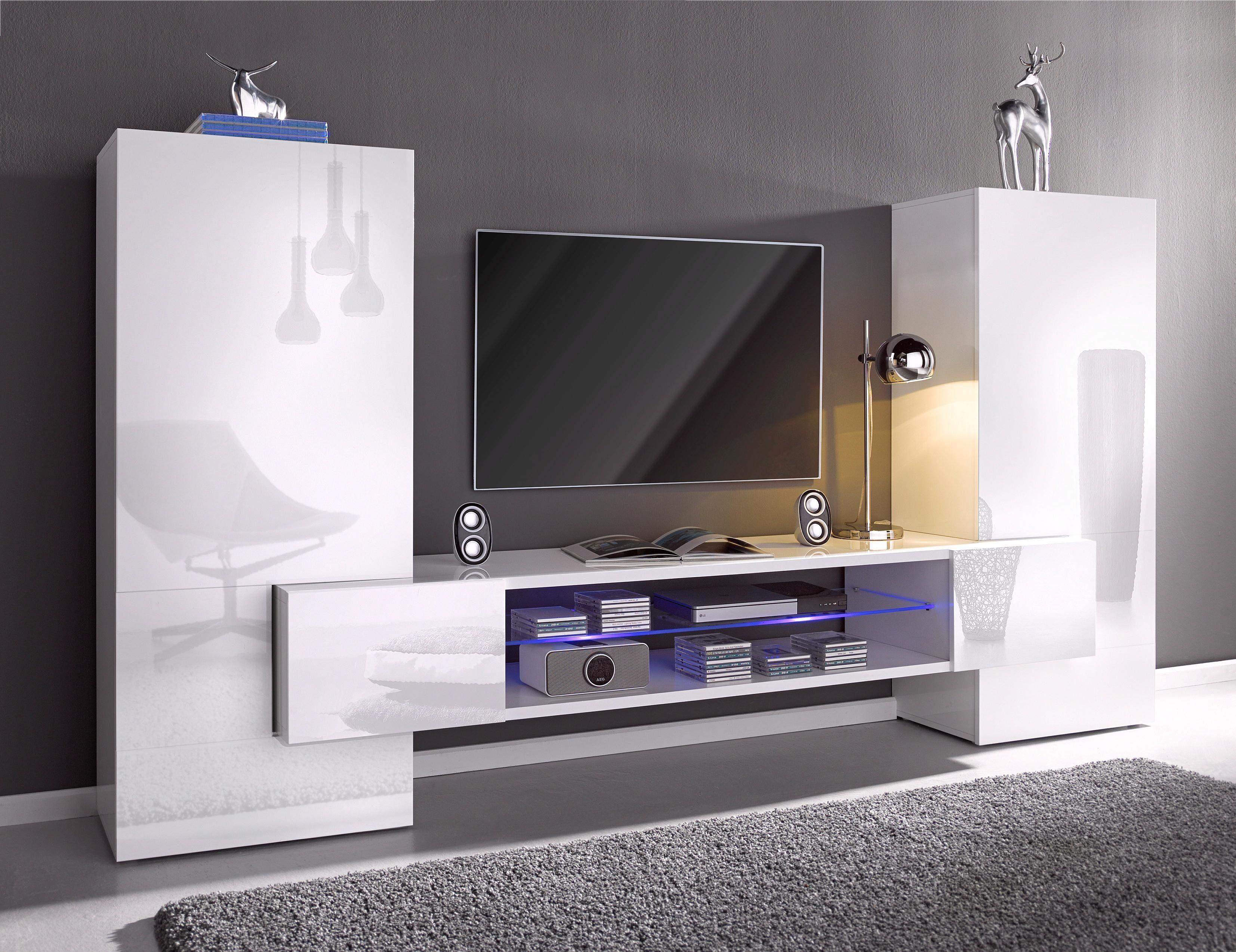 Hochwertige Wohnwand Sammlung : Moderne wohnwand online kaufen otto