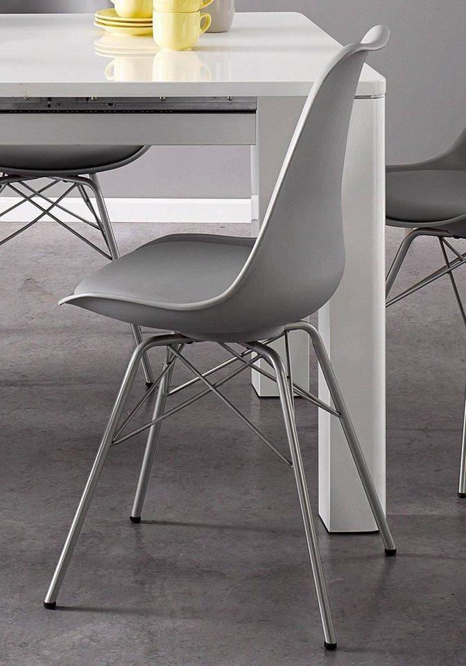 Stühle (2 Stck.) in Grau