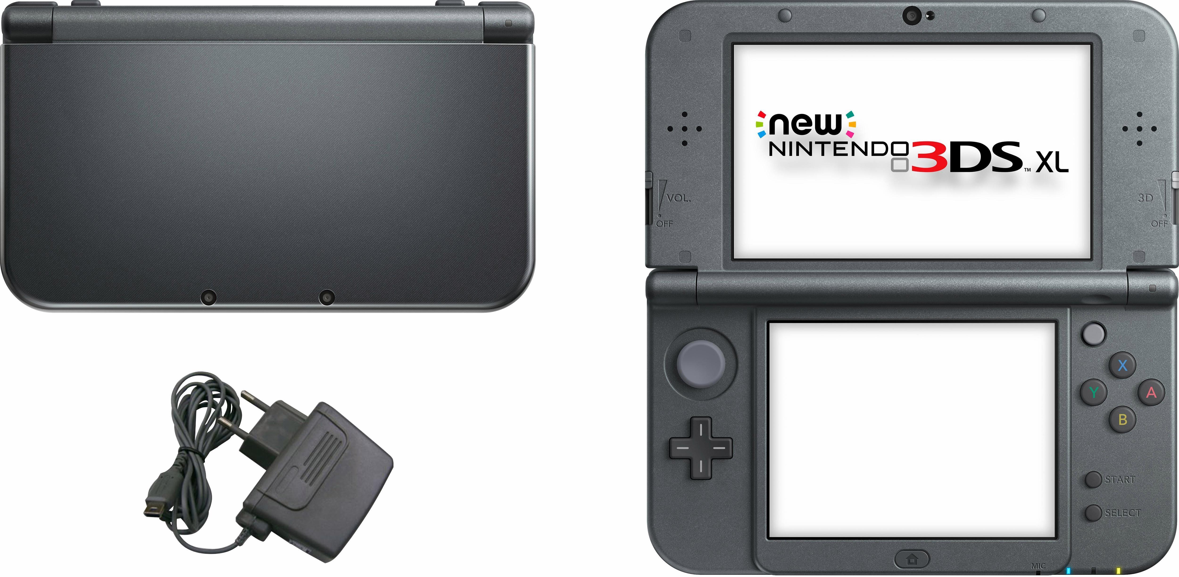New Nintendo 3DS XL Konsolen-Set mit 3 Jahren Garantie*