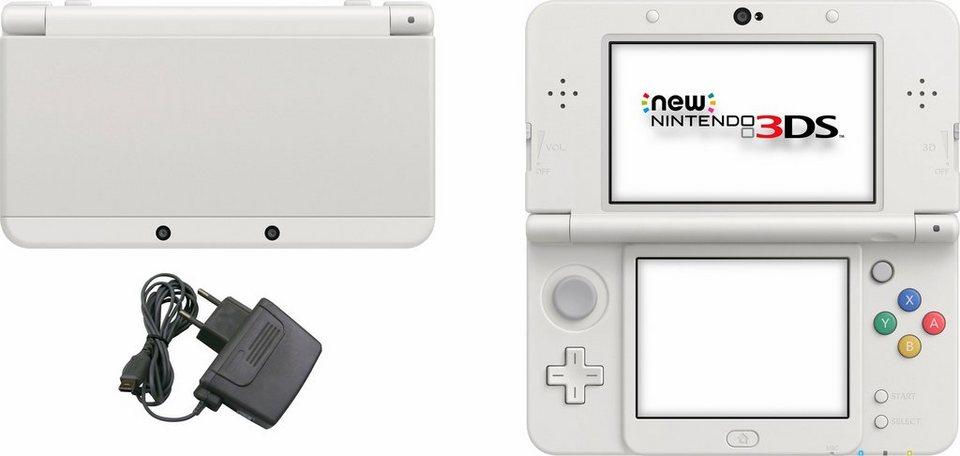 New Nintendo 3DS Konsolen-Set mit 3 Jahren Garantie* in weiß