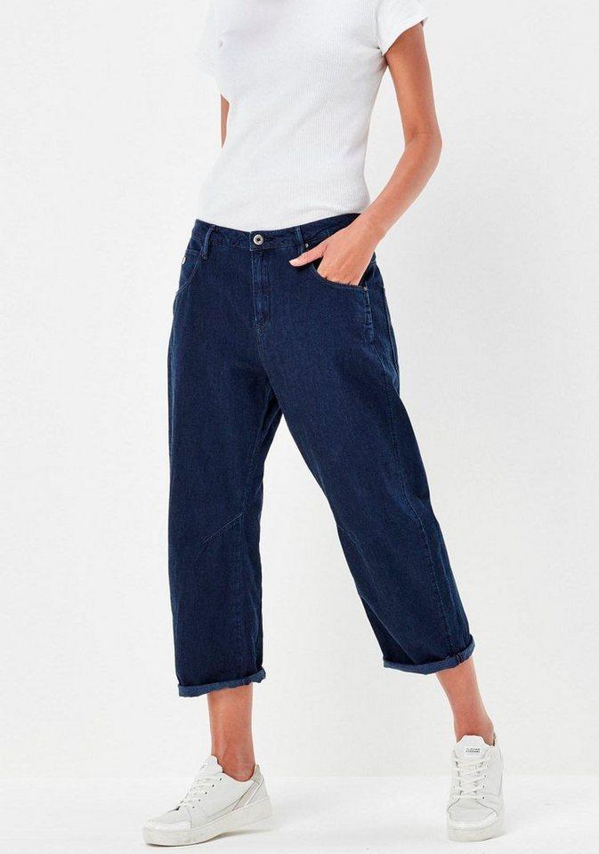 G-Star 7/8-Jeans »Arc OS 3D Low« im Boyfriend-Look in darkblue