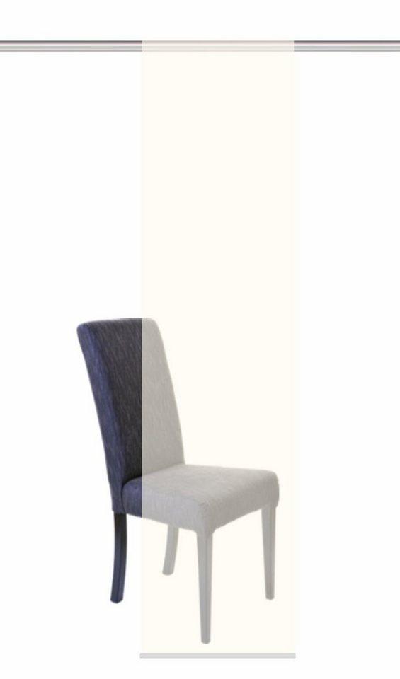 schiebevorhang home wohnideen benedikt mit klettband 1 st ck mit zubeh r online kaufen otto. Black Bedroom Furniture Sets. Home Design Ideas
