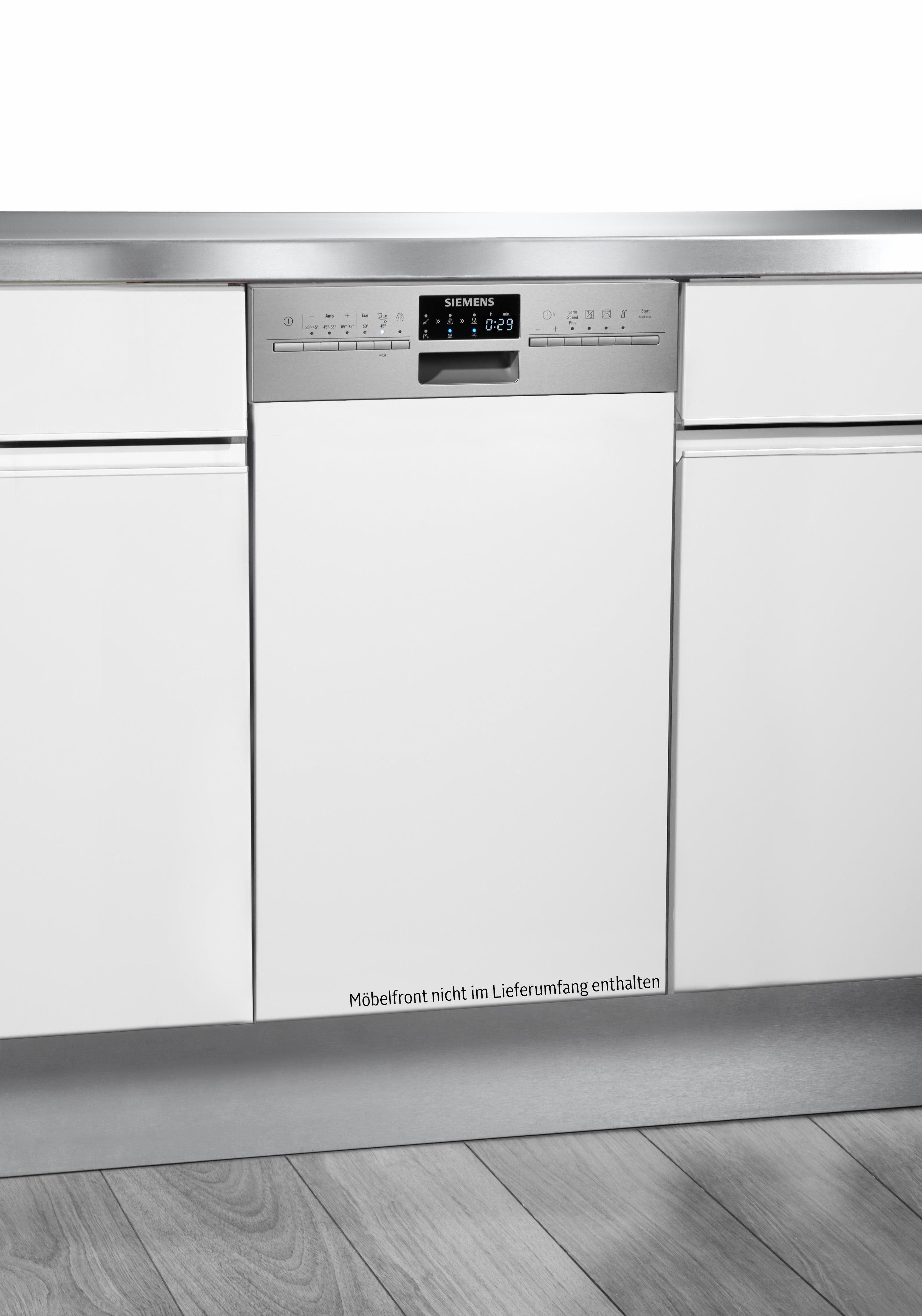 Siemens integrierbarer Geschirrspüler SR56T557EU, Energieklasse A++, 9 Maßgedecke