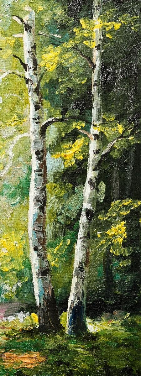 Eurographics Leinwandbild »Walking Through Trees II«, 30/80cm