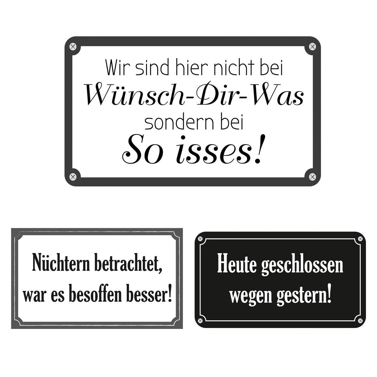 Eurographics Wandtattoos »Funny Quotations«, 6er Set