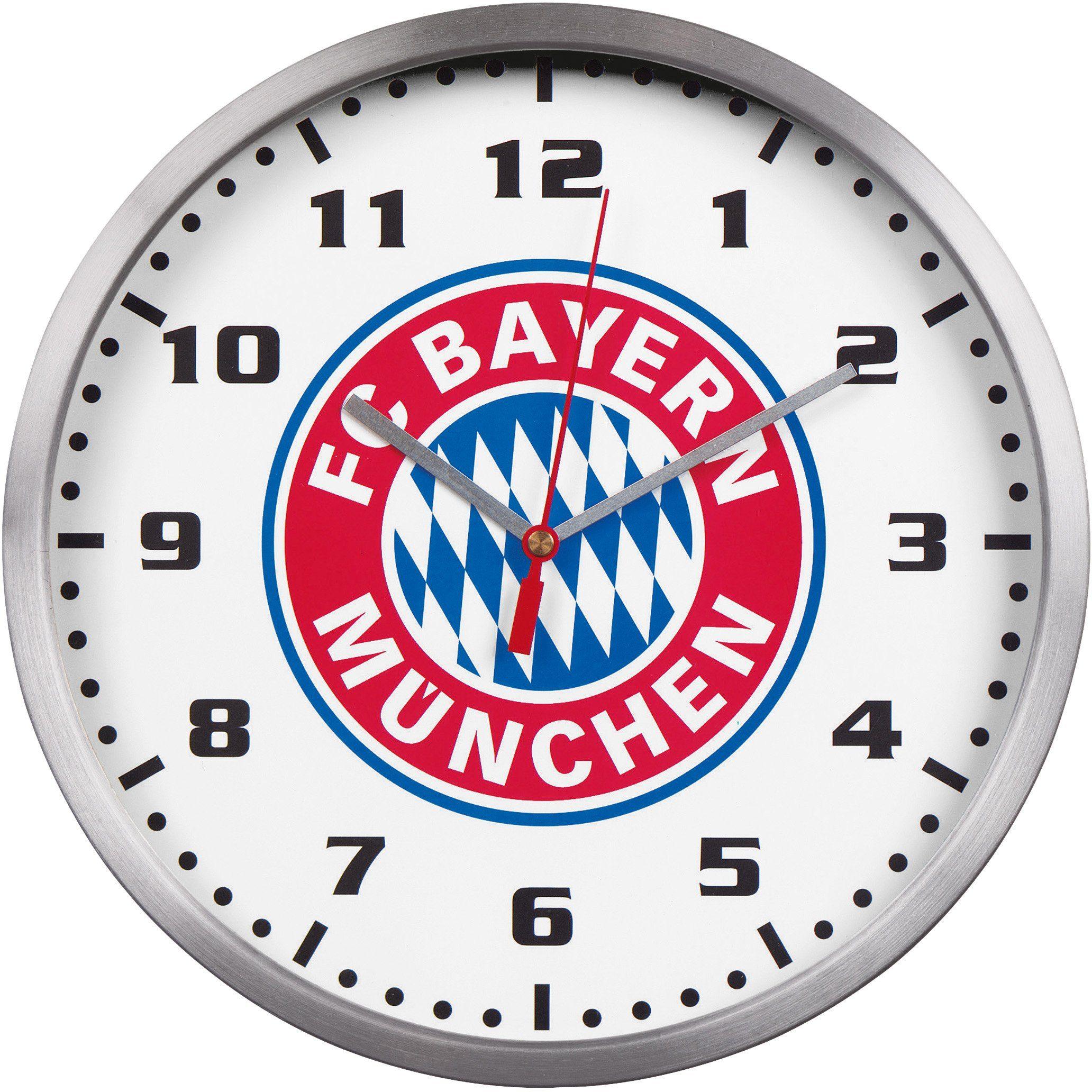 FC Bayern München Wanduhr, »18445«