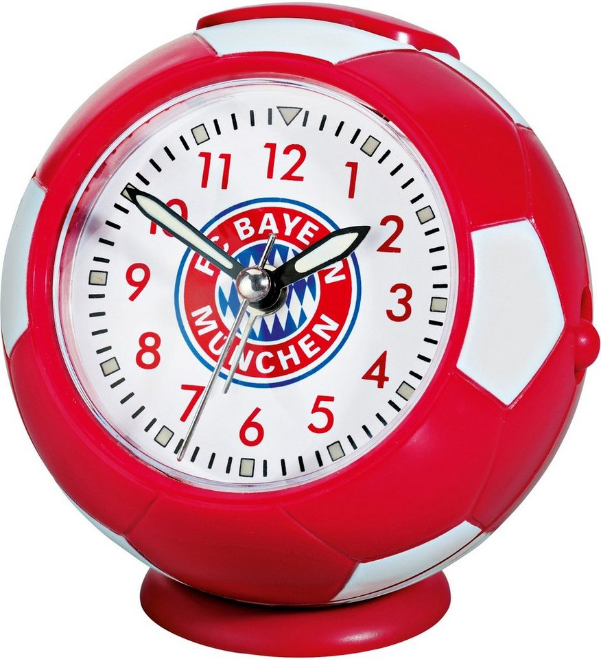 FC Bayern München Wecker, »19019« in rot-weiß