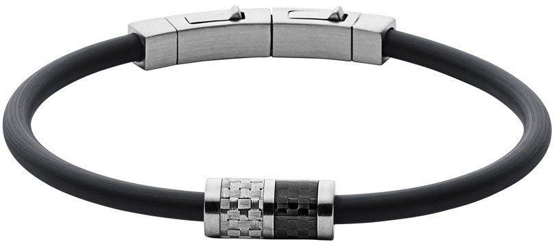 Skagen Armband, »Olaf, SKJM0115040« in silberfarben-schwarz