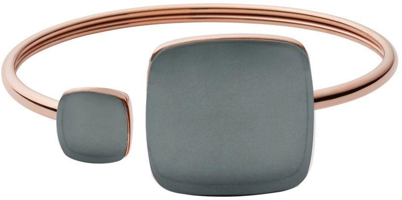 Skagen Armspange mit Glassteinen, »Sea Glass, SKJ0874791« in roségoldfarben-blau