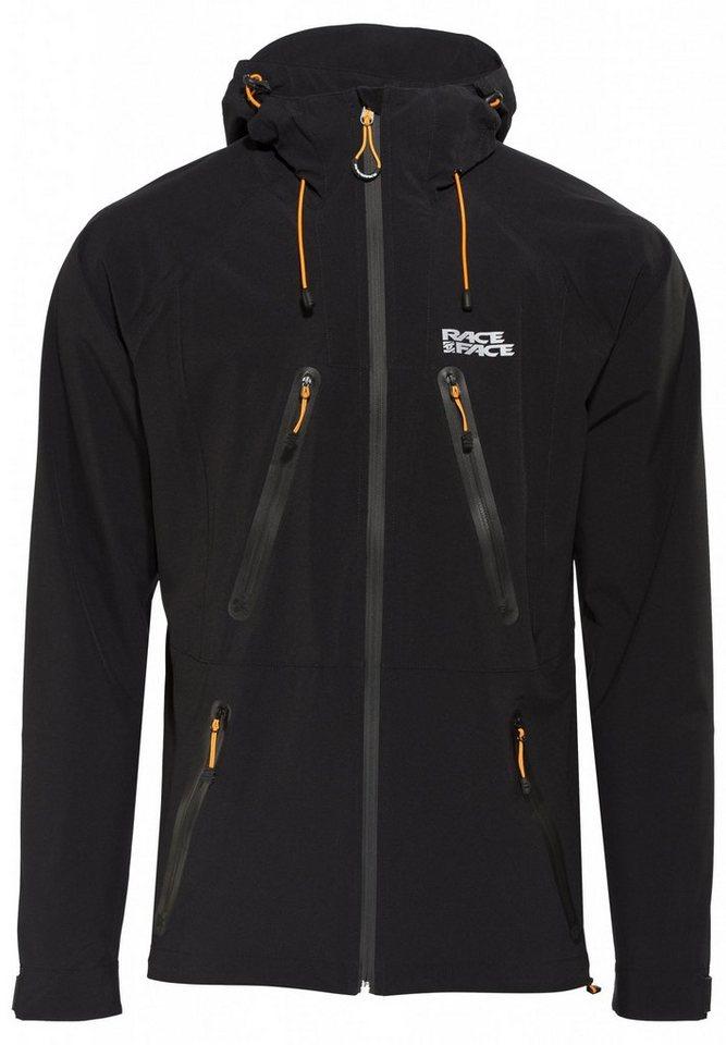 Race Face Radjacke »Agent Softshell Jacket Men« in schwarz