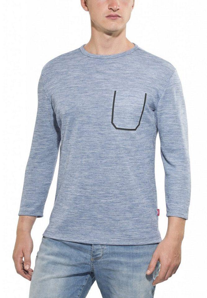 Giro T-Shirt »5 Ride Shirt 3/4 Men« in blau