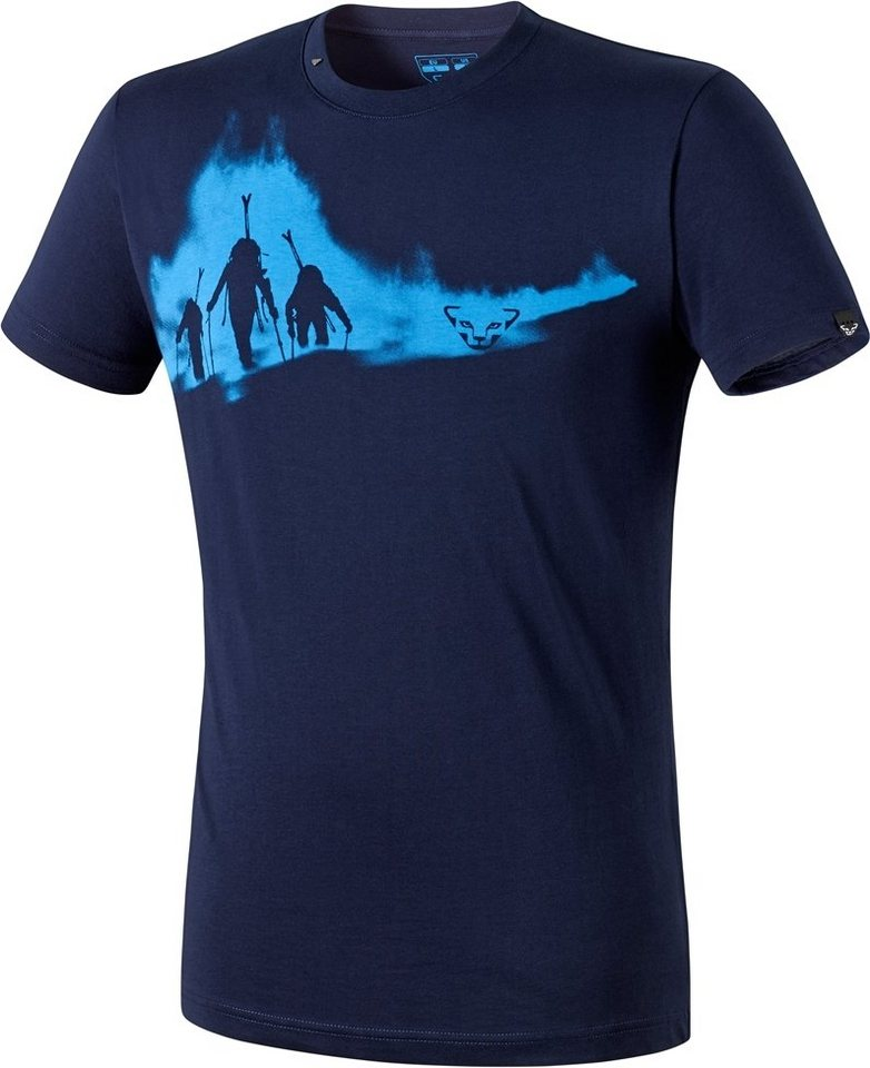 Dynafit T-Shirt »First Track CO SS Tee Men« in blau