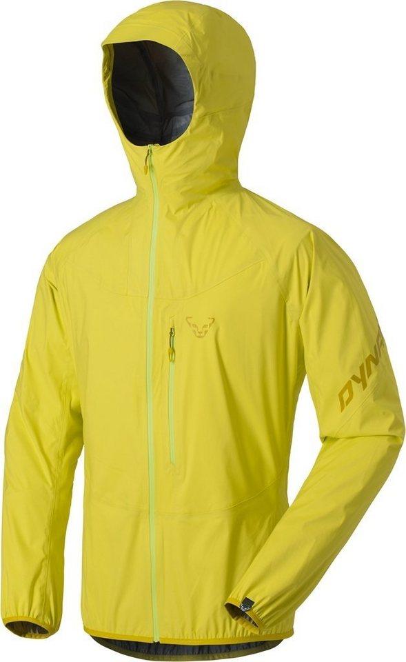 Dynafit Regenjacke »TLT 3L Jacket Men« in gelb