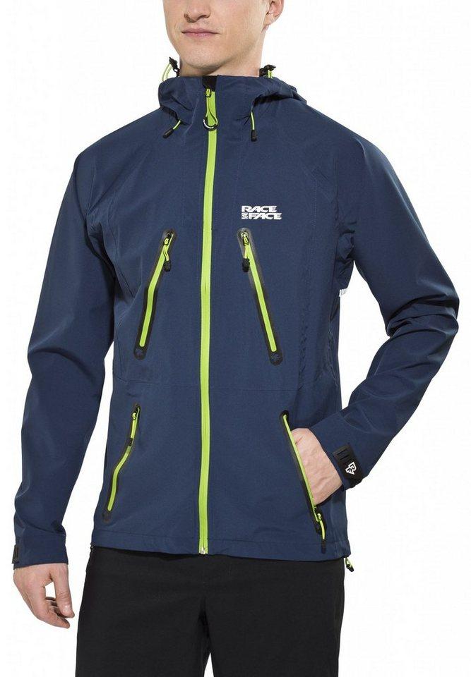 Race Face Radjacke »Agent Softshell Jacket Men« in blau
