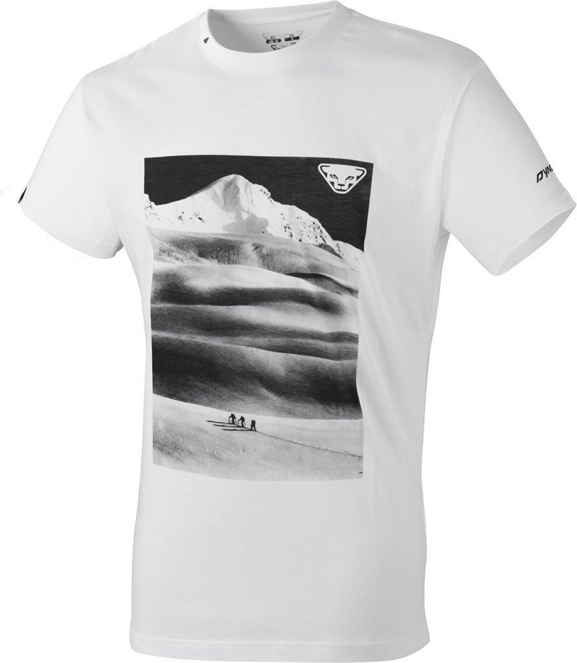Dynafit T-Shirt »First Track CO SS Tee Men« in weiß