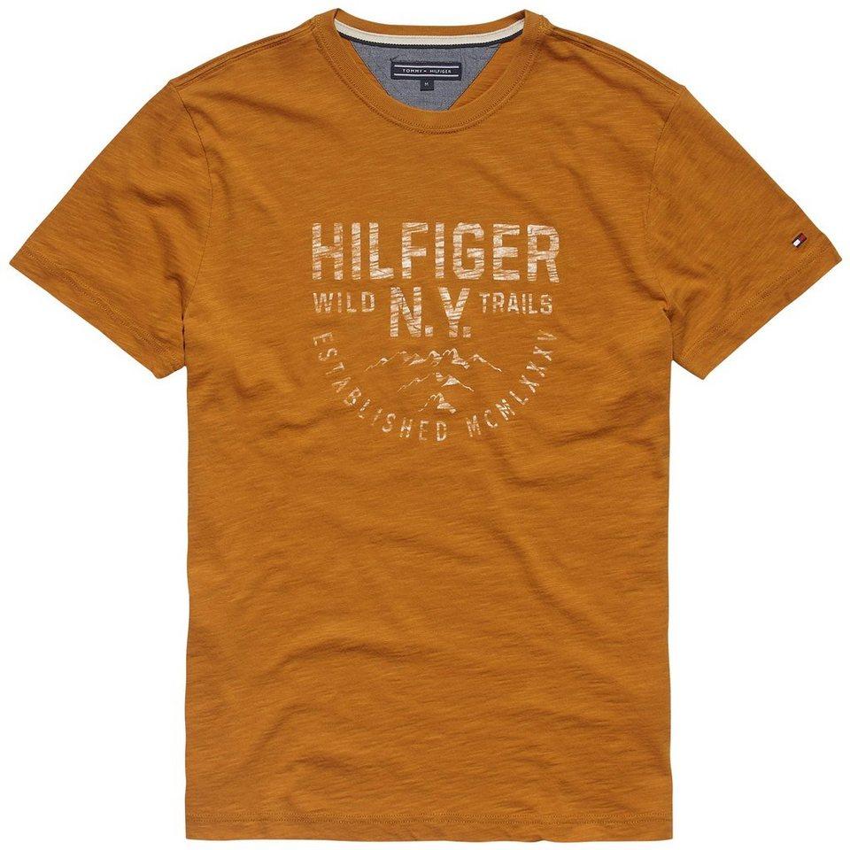 Tommy Hilfiger T-Shirts (kurzarm) »STAN TEE S/S RF« in SUDAN BROWN