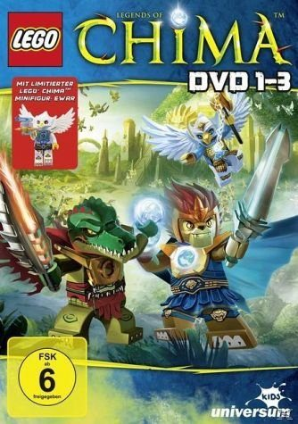 DVD »LEGO - Legends of Chima 1-3 Special Edition«