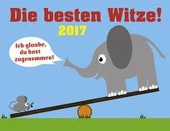 Kalender »Die besten Witze 2017«