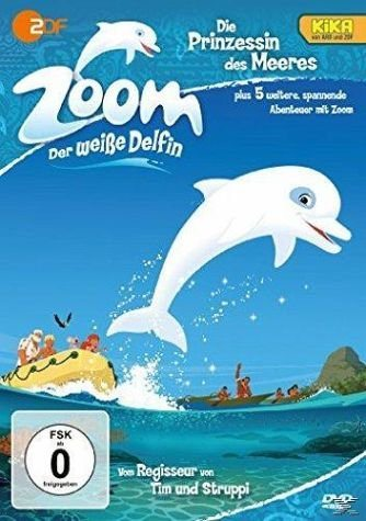 DVD »Zoom - der weiße Delfin - die Prinzessin des...«