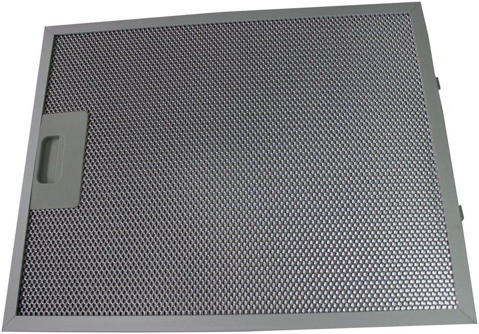Ersatz-Aluminium-Fettfilter für ausgewählte Hauben, 33,9x27,1 cm, 2er-Set in silberfarben