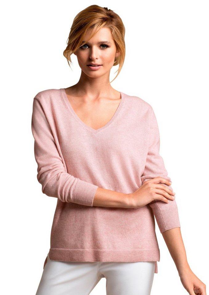 Ambria Pullover in sehr trageangenehmer Baumwoll-Mischung in rosa