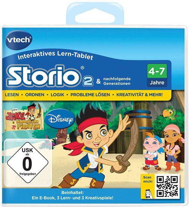 VTech Lernspielkassette, »Storio 2 - Jake und die Nimmerland Piraten«
