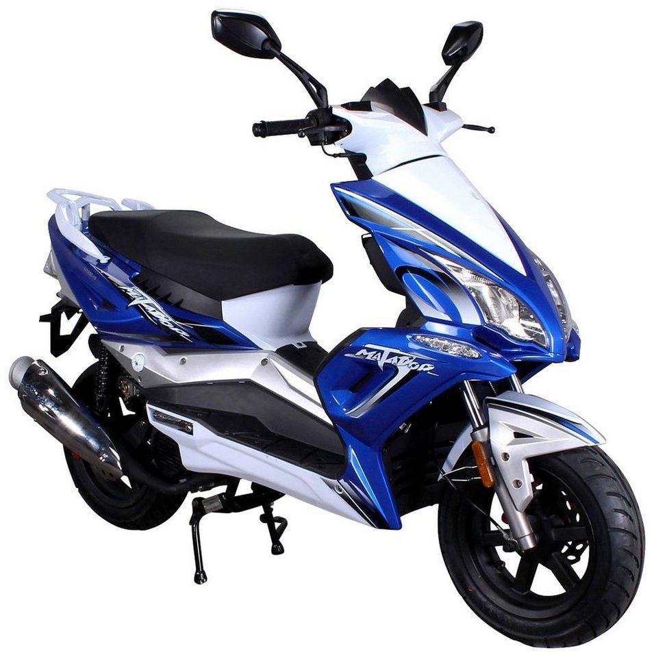 Motorroller »Matador«, 125 ccm, 85 km/h in blau