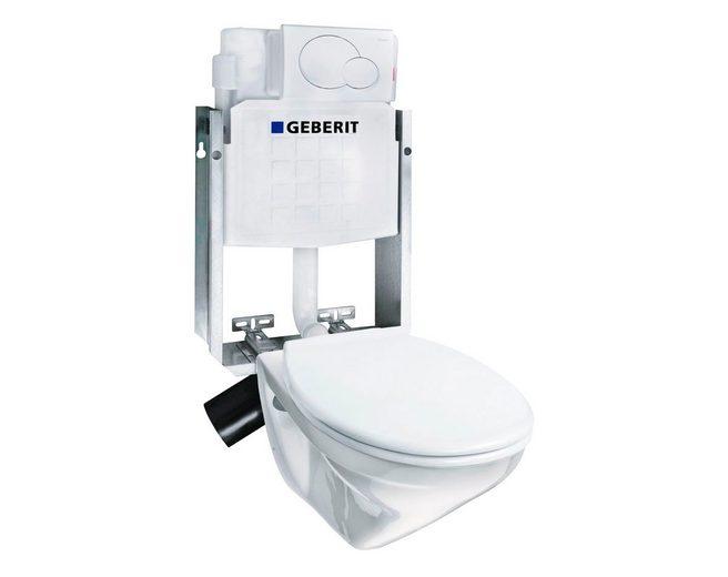 Komplett-Set: Wand WC »Omnia Pro«, inkl. Geberit Vorwandelement