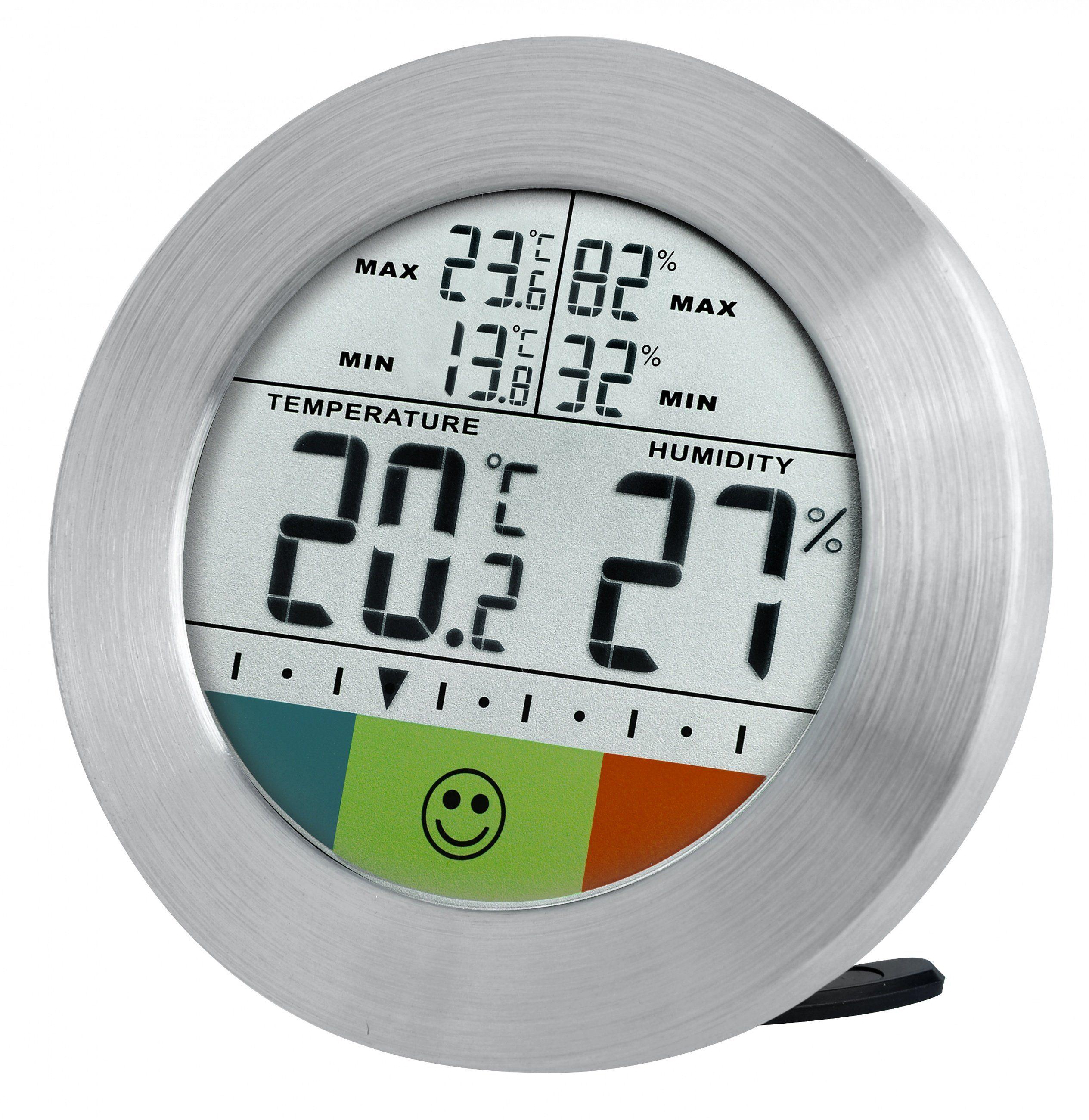 BRESSER Thermometer »BRESSER Temeo Hygro Circuitu digitales Thermometer«