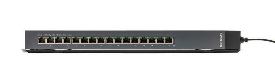 Netgear Switch »16-Port GB Plus Click Switch«