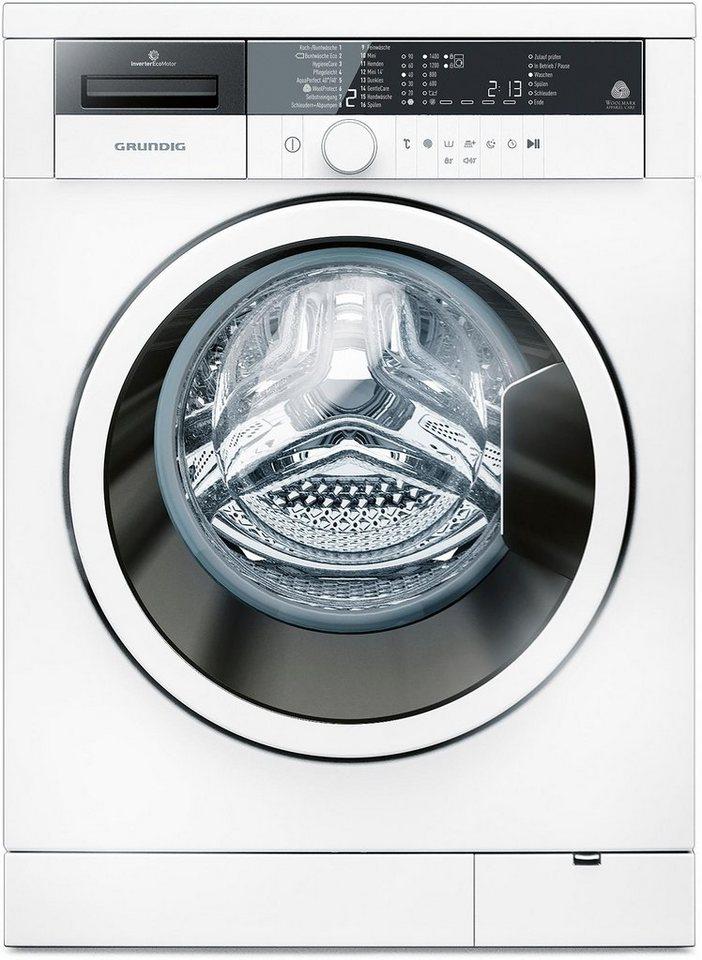 Grundig Waschmaschine GWO 37430 WB, A+++, 7 kg, 1400 U/Min in weiß