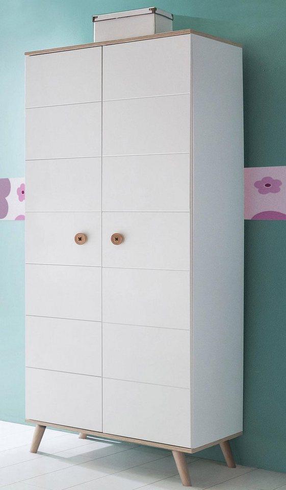 Wimex kleiderschrank billund griffe in knopf optik online kaufen otto - Wimex babyzimmer ...