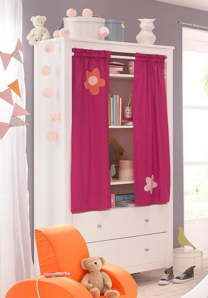 hoppekids kleiderschrank flowerpower kaufen otto. Black Bedroom Furniture Sets. Home Design Ideas