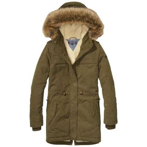 Tommy Hilfiger Jacke »PARKA« in Olive Night