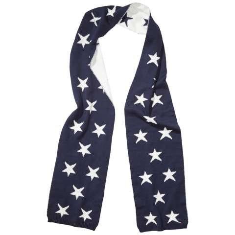 Tommy Hilfiger Schal »STAR SCARF« in Navy Blazer