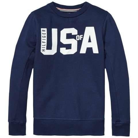 Tommy Hilfiger Sweatshirt in Medieval Blue