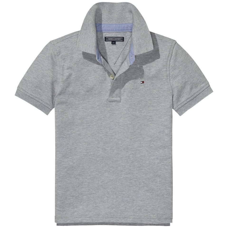 Tommy Hilfiger Poloshirt »TOMMY FASHION POLO S/S« in LIGHT GREY HTR