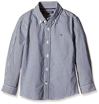 Tommy Hilfiger Hemd »MINI GINGHAM SHIRT L/S« in Surf the Web