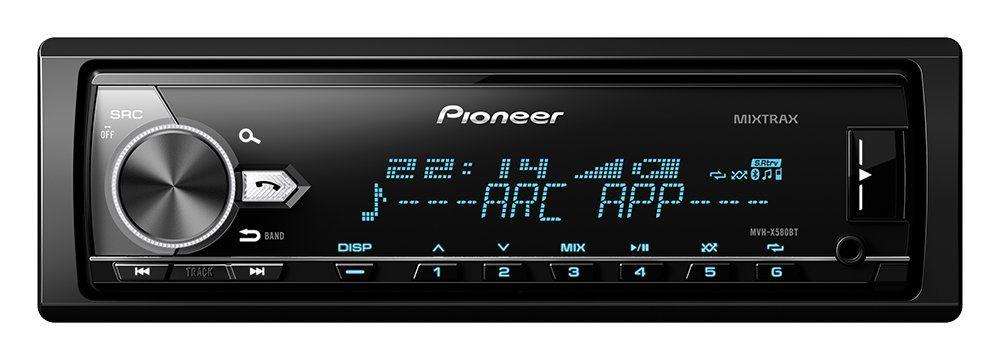 PIONEER 1-DIN Digital Media Receiver »MVH-X580BT«