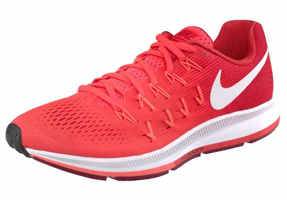 Nike »Zoom Pegasus 33 Wmns« Laufschuh in rot-weiß