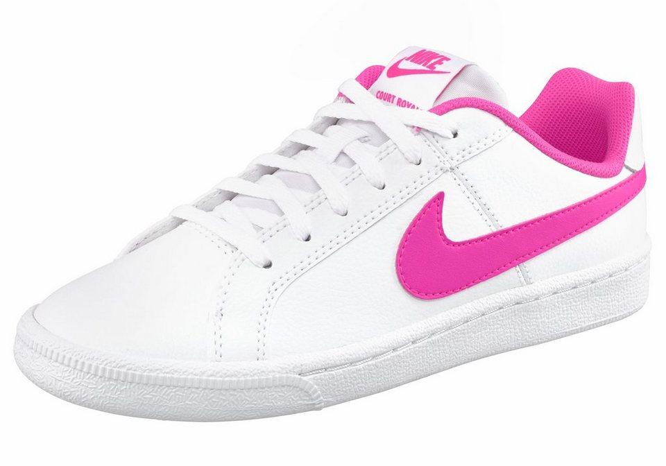 Nike »Court Royale« Sneaker in weiß-pink